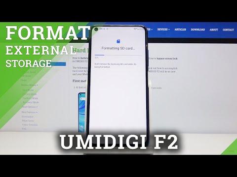 Free Up External Storage in UMIDIGI F2 - Format SD Card