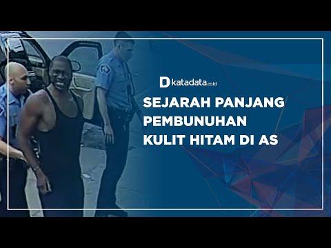 Sejarah Panjang Pembunuhan Kulit Hitam di AS | Katadata Indonesia