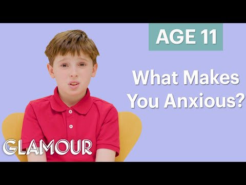 70 Men Ages 5-75: What Makes You Anxious? | Glamour