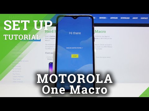 How to Set Up MOTOROLA One Macro – First Activation and Configuration