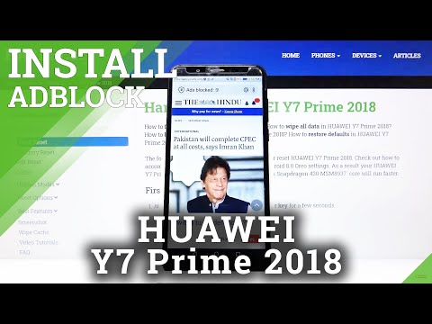 How to Install AdBlock in Huawei Y7 Prime 2018 - Block All Adverts