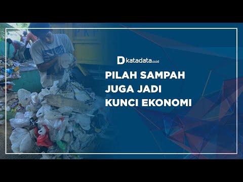 Pilah Sampah Juga Jadi Kunci Ekonomi | Katadata Indonesia