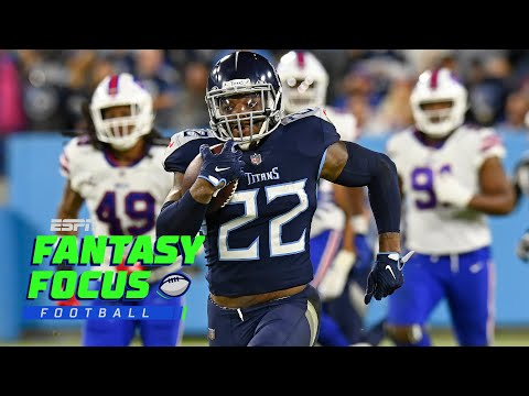 Derrick Henry leads Titans past Bills and Waiver Wire Preview   Fantasy Focus Live!