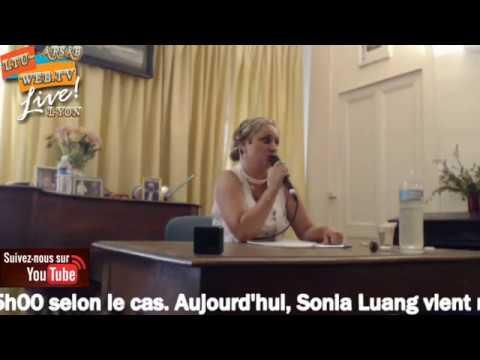 Conférence médiumnique Sonia Luang 08-07-2017 à 14h15