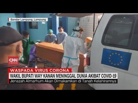 Wakil Bupati Way Kanan Meninggal Akibat Covid-19
