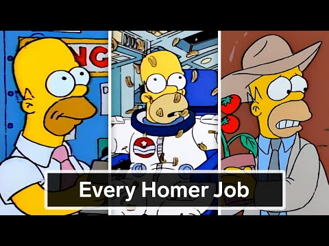 Every Job Homer Simpson's Ever Had | WIRED