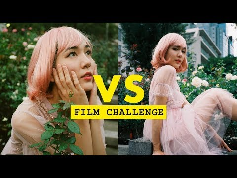 We got kicked out by security in Japan - FILM PHOTOGRAPHY CHALLENGE