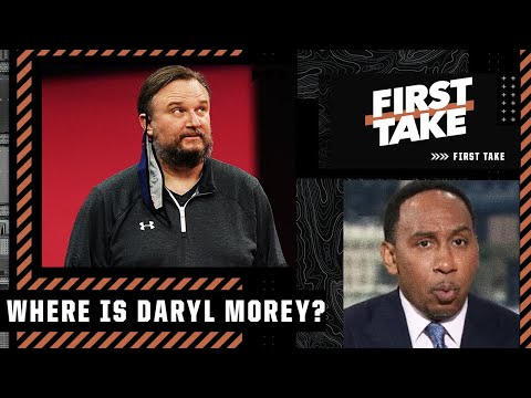 'Where the hell is Daryl Morey?'- Stephen A. reacts to the Ben Simmons drama | First Take
