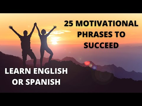 25 Motivational Phrases in Spanish & English 💂 narrated 🗣 Inspirational Quotes To Succeed 🏆