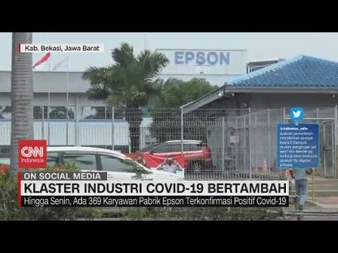 Ratusan Karyawan Pabrik Epson Positif Covid-19