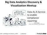 Data-As-A-Service (#DAAS) to enable compliance reporting