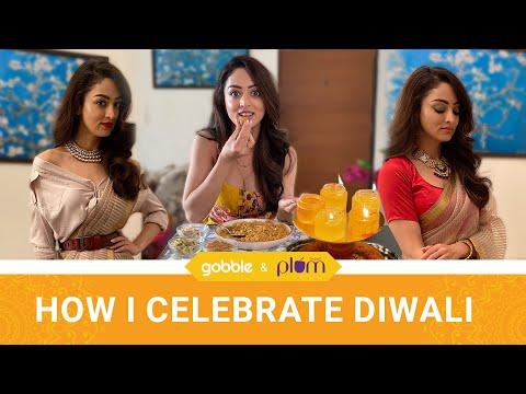 Gobble | Sandeepa Dhar's Eco-Friendly Diwali 2020 | Besan Laddoo | Saree Styling | How To Celebrate