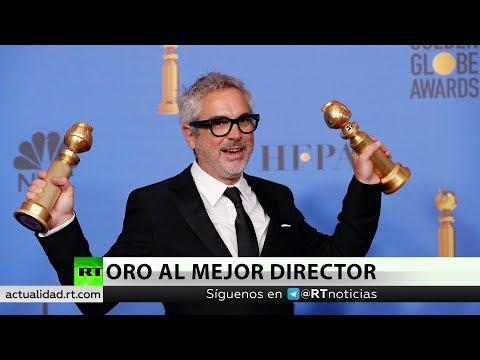 El mexicano Alfonso Cuarón gana el globo de oro al mejor director