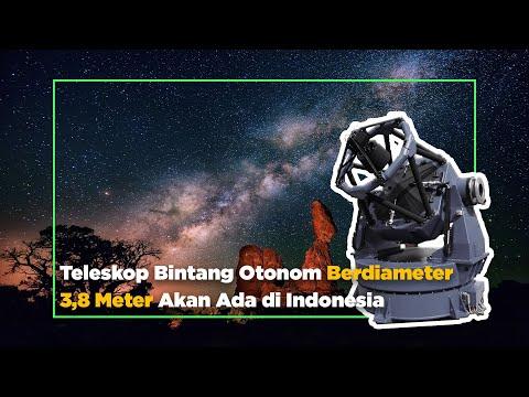 Indonesia Akan Memiliki Teleskop Bintang Otonom