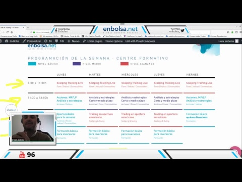 Apertura europea, trading y estrategias en vivo #73