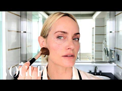 Amber Valletta's Secret to Her Natural Supermodel Glow | Beauty Secrets | Vogue
