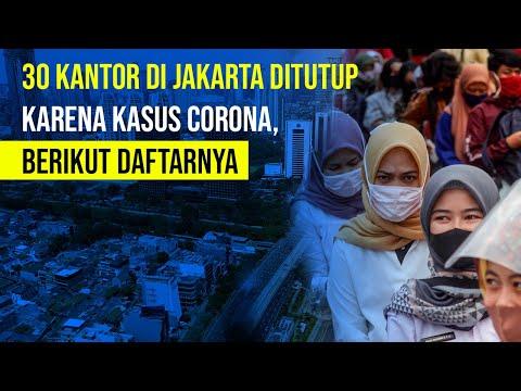 30 Kantor di DKI Jakarta Ditutup Karena Kasus Covid-19