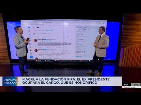 Mauricio Macri anunció que será presidente de la Fundación FIFA