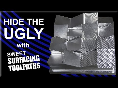 Fusion 360 Surfacing Toolpaths YOU Can Use!  WW228