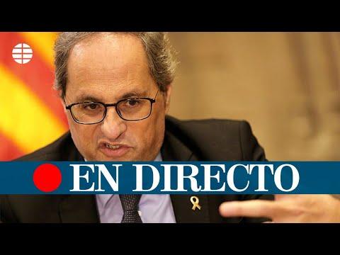 DIRECTO JUICIO |  El Supremo revisa la inhabilitación a Torra