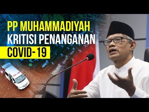 PP Muhammadiyah Kritisi Penanganan Covid-19
