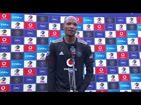 DStv Premiership | Orlando Pirates v Stellenbosch FC | Interview with Goodman Mosele