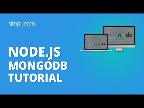 Node.js MongoDB Tutorial | NodeJS With MongoDB Tutorial For Beginners | NodeJS Tutorial |Simplilearn