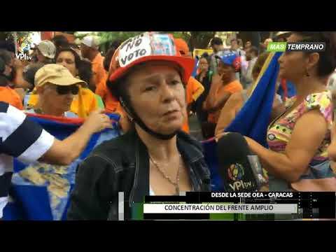 Venezuela - Frente Amplio consignó documento ante la OEA  - VPItv