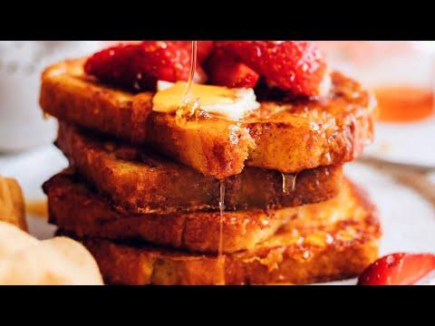 Easy Vegan French Toast (10 Minutes!)   Minimalist Baker Recipes