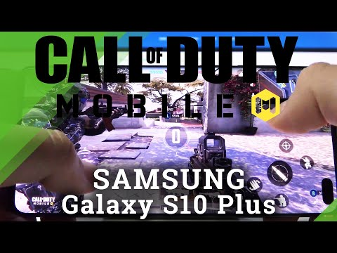 Call Of Duty on SAMSUNG Galaxy S10 Plus- Gameplay