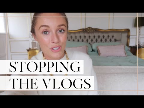 WHY I'M STOPPING THE DAILY VLOGS