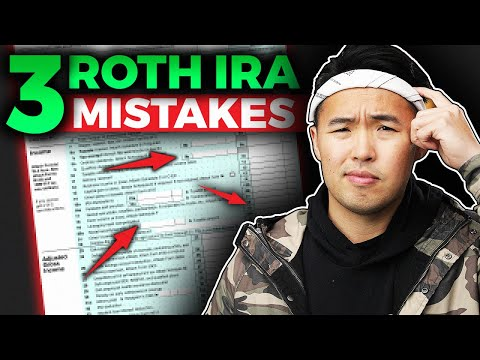 3 Costly Roth IRA Mistakes 2020 (Tax Free Millionaire)
