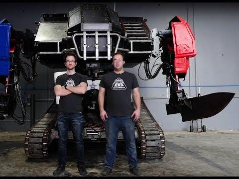 MegaBot's faster giant robot arm!