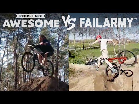Biking, Skateboarding & More | People Are Awesome Vs. FailArmy