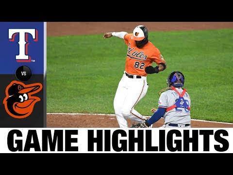 Rangers vs. Orioles Game Highlights (9/25/21) | MLB Highlights