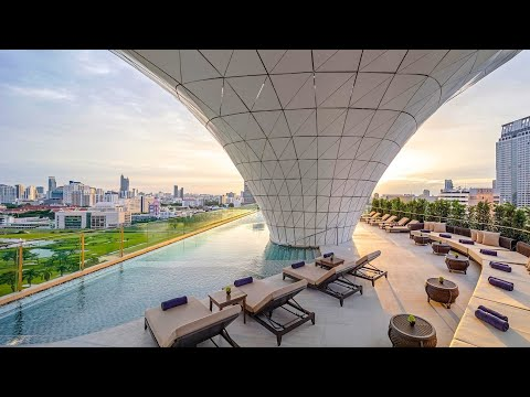 Waldorf Astoria Bangkok (Thailand): full hotel tour
