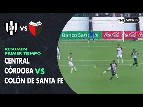 Resumen Primer tiempo: Central Córdoba vs Colón SF | Fecha 17 - Superliga Argentina 2019/2020