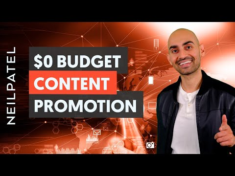 Promoting Your Content With Zero Budget - Module 3 - Lesson 1 - Content Marketing Unlocked