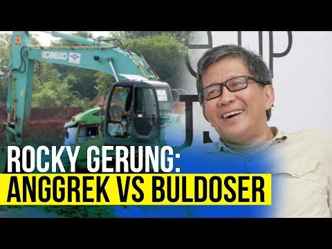 Somasi Tak Digubris, Sentul City Kirim Buldoser ke Rumah Rocky Gerung