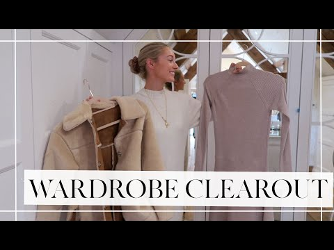 A WARDROBE CLEAROUT + TOPSHOP HAUL! // Fashion Mumblr Vlogs