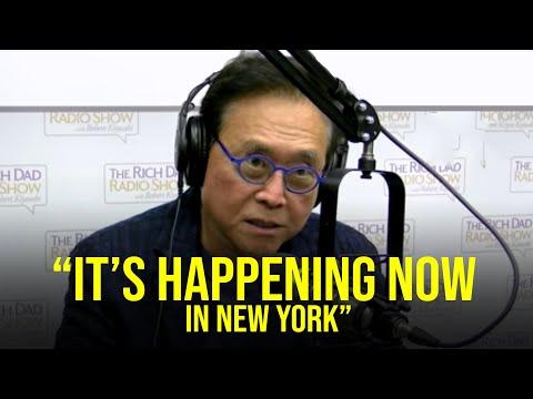 """We are all in trouble""  PREPARE NOW! (Robert Kiyosaki)"