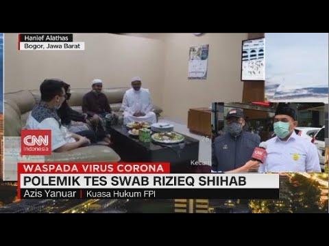Pihak Rizieq Shihab Menolak Hasil Swab Dipublikasikan, Ini Alasannya...