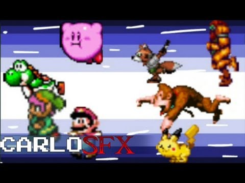 Super Smash Bros Intro Nintendo 64 Pal Version VidoEmo