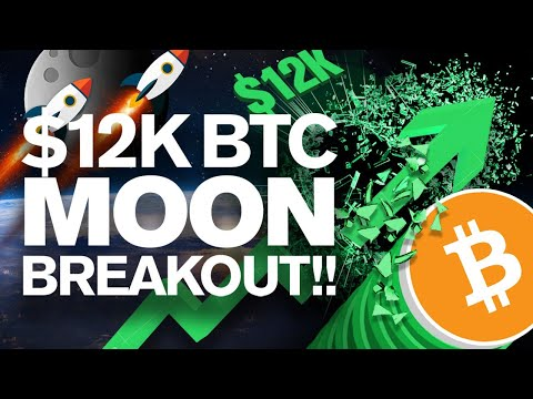 BITCOIN to Shatter 12k Resistance & Then MOON!?