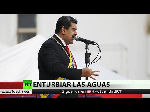 Maduro acusa a la Asamblea Nacional de