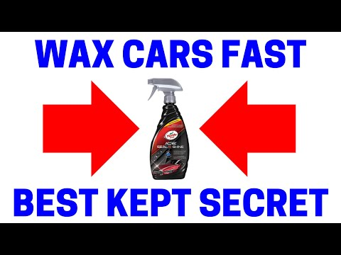 How To EASILY Wax Your Car In Minutes!