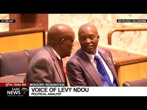 Job Mokgoro Resignation I Levy Ndou gives insight into the former premier's resignation
