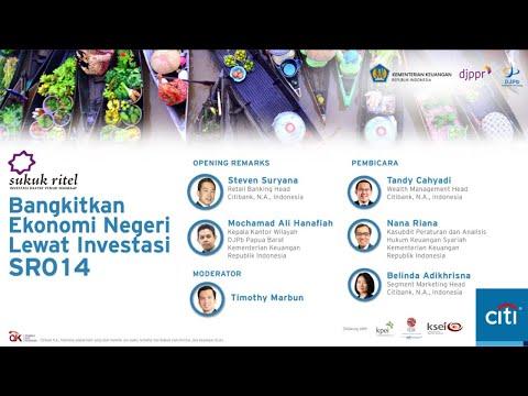 """""""Bangkitkan Ekonomi Negeri Lewat Investasi SR014"""""""