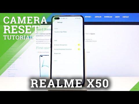 How Reset Camera in REALME X50 5G – Restore Camera Configuration
