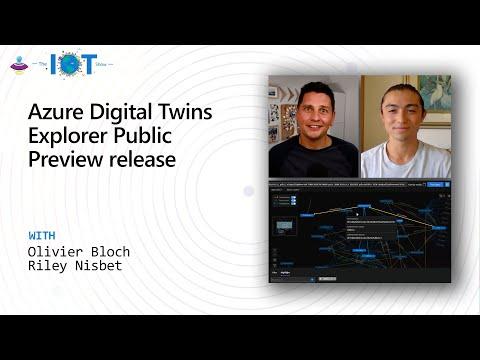 Azure Digital Twins Explorer Public Preview Release